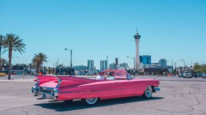 Pink Cadillac - American Road Tripping in Style