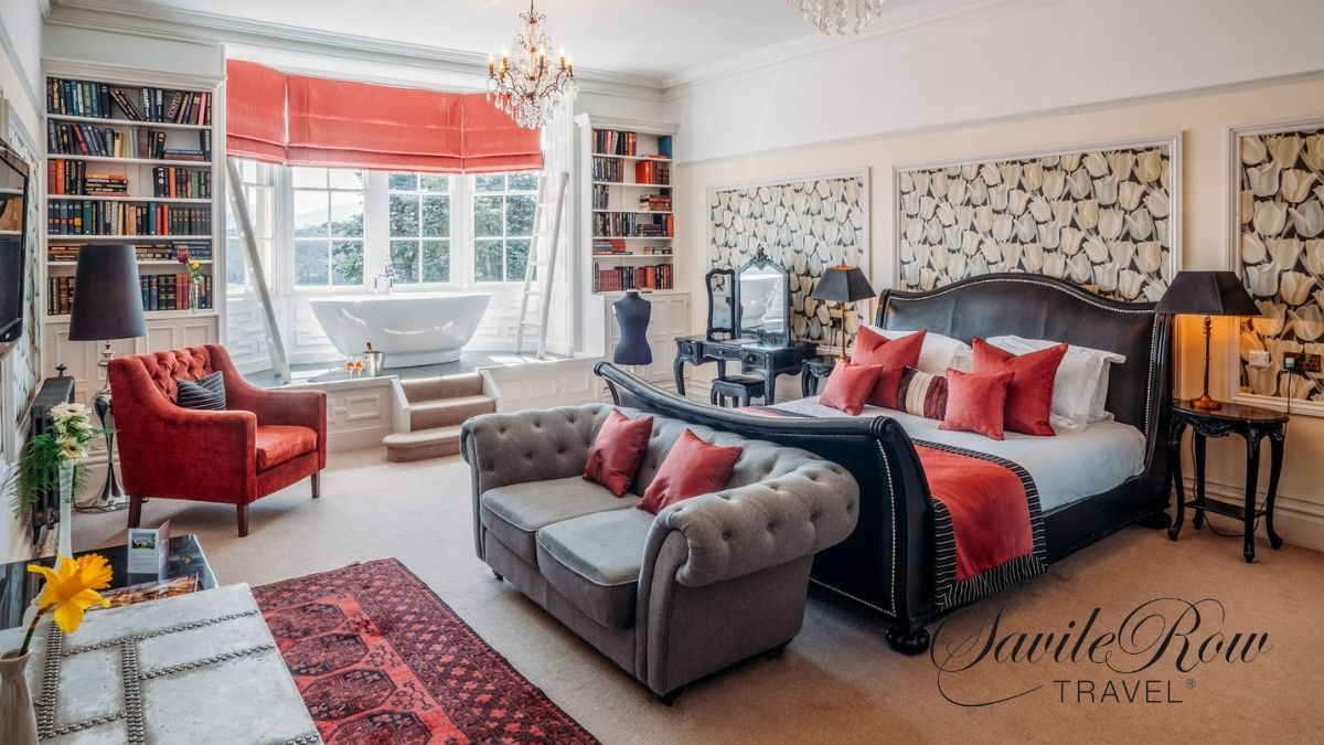Chateau Rhianfa Bedroom, Anglesey
