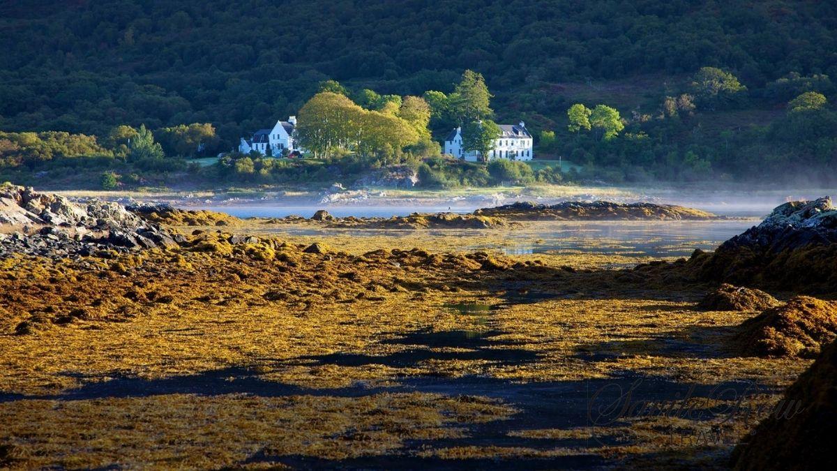 Kinloch Lodge Isle of Skye Across the Loch