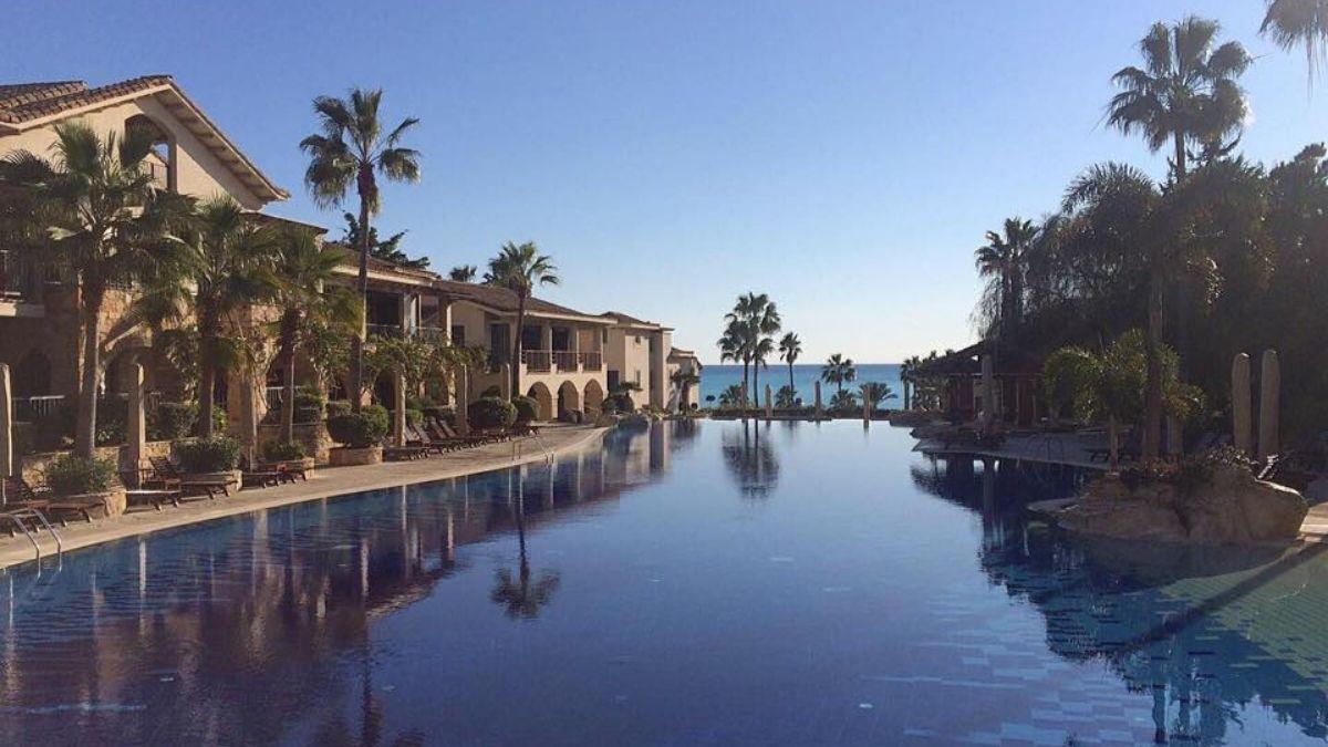 Columbia Beach Resort Pool Cyprus no logo
