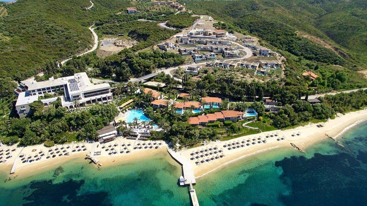 Eagles Villas Greece Ariel (1)