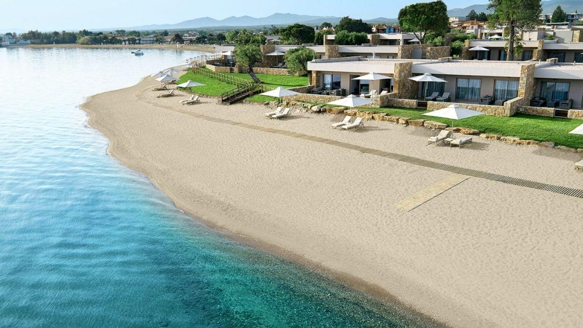 Ikos Olivia Beach Greece no logo