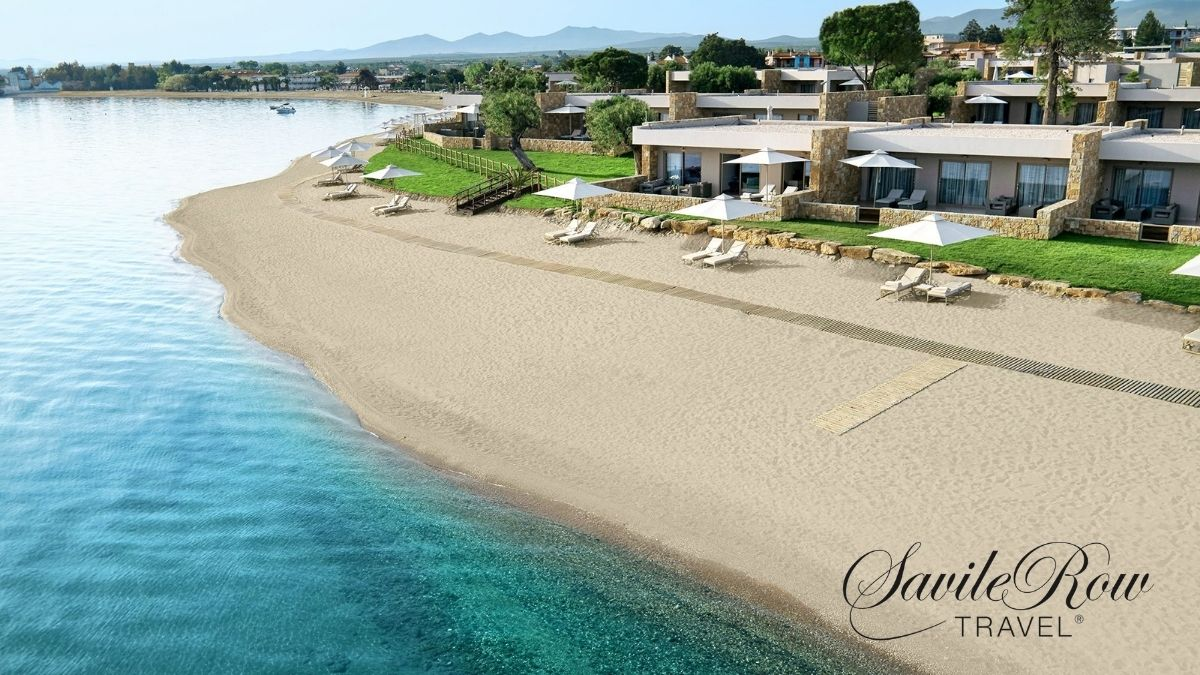 Ikos Olivia Greece Beach View Ariel (1)