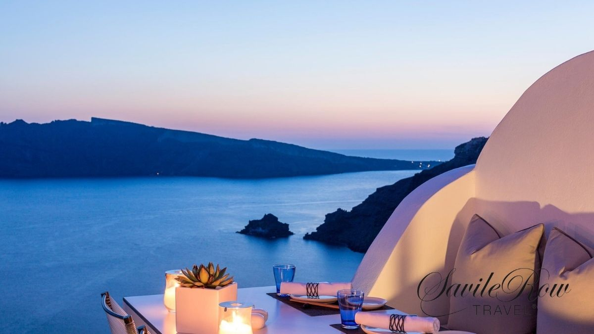Katikies Santorini Greece Sunset (1)