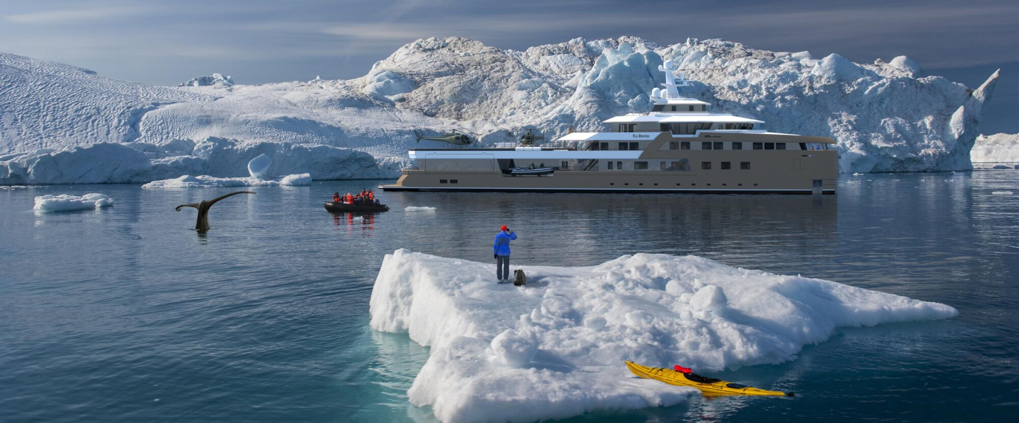 La Datcha Expedition Yacht Exterior