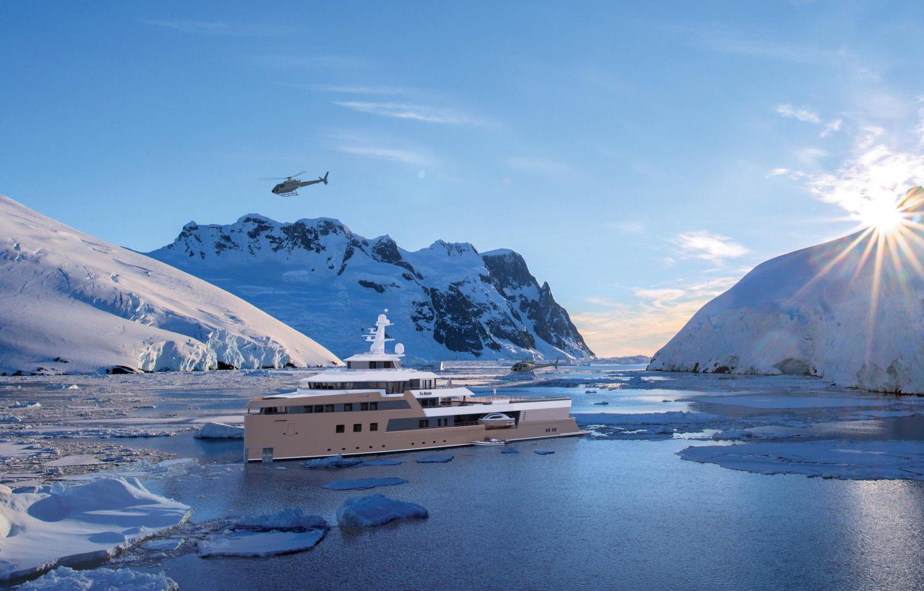 La Datcha Expedition Yacht 77