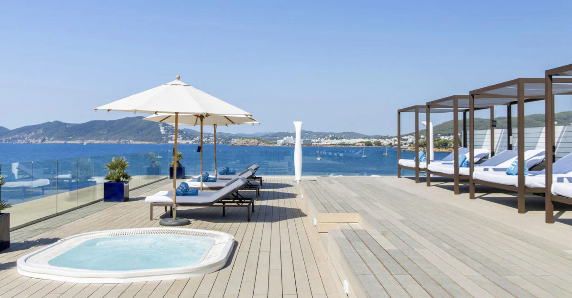 ME Ibiza Deck Canva