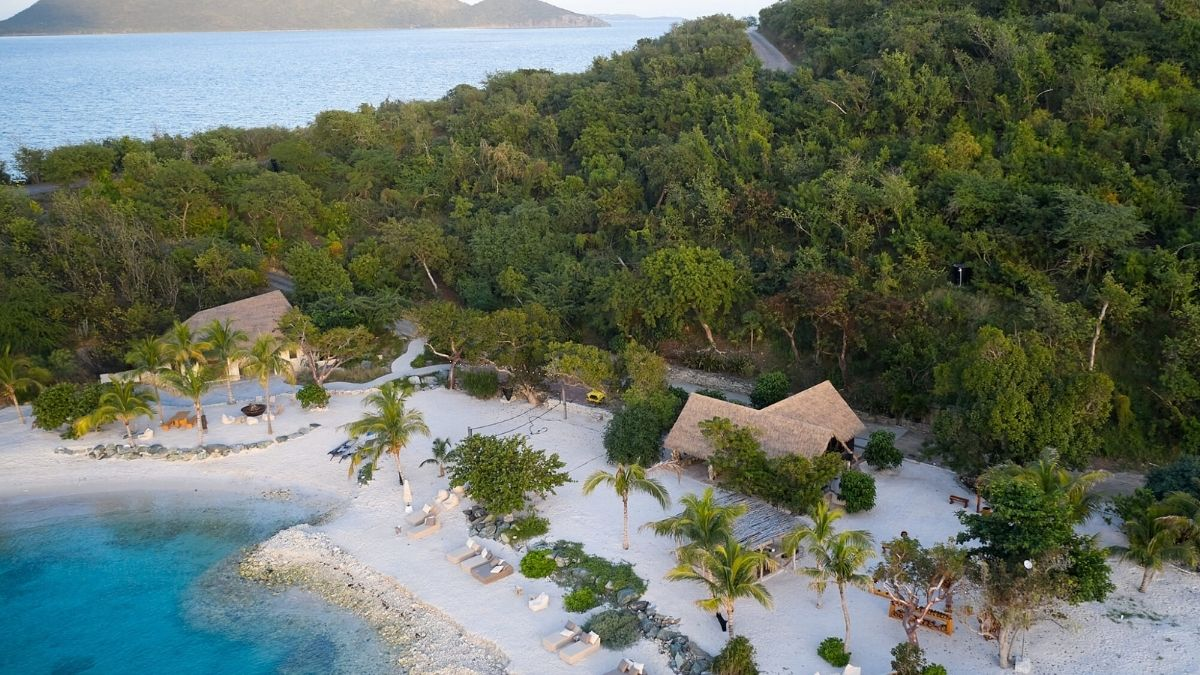 AERIAL BVI caribbean luxury