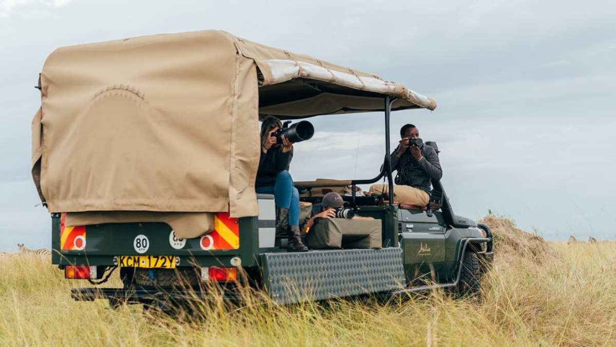 Asilia Africa Photography Vehicle wildlife photography holiday