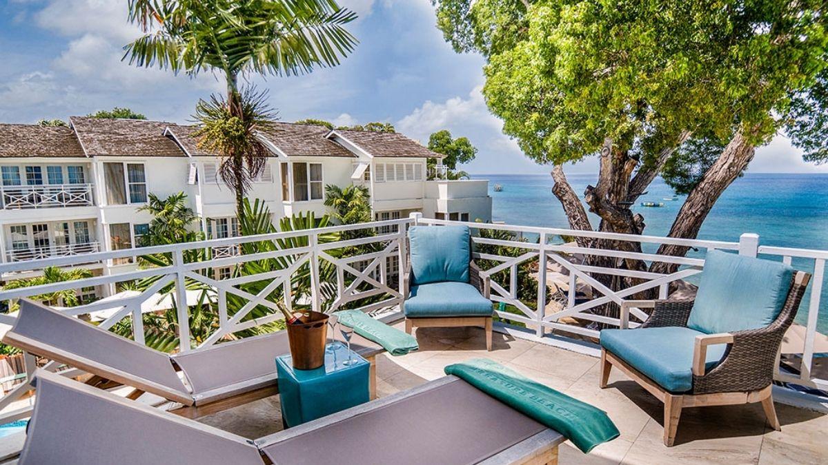 Treasure Beach Barbados Balcony