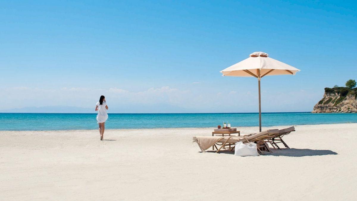 Sani Greece Beach summer holidays 2021